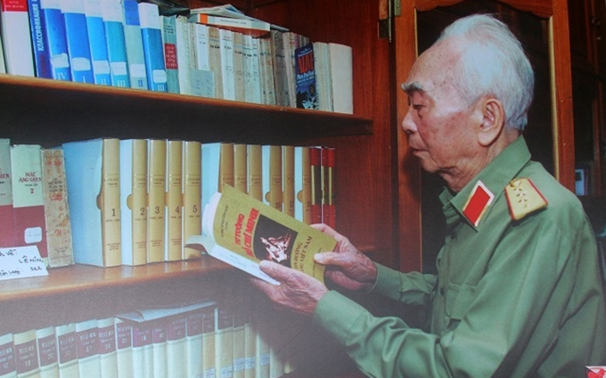 Fotos emotivas del General Vo Nguyen Giap